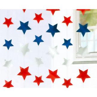 Cascate Stelle America mt 2,10 set da 6 pezzi
