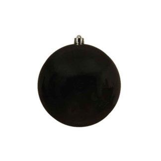 Palla di Natale mm 140 Nero