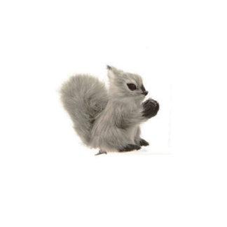 Scoiattolo grigio in peluche cm. 8