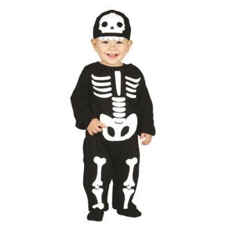 Costume scheletro Baby 6 - 12 mesi