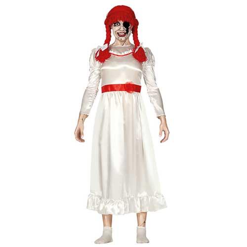 fornire un sacco di trova fattura qualità e quantità assicurate Costume stile Annabelle tg. 46/48