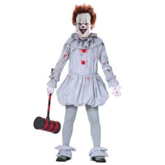 Costume clown assassino stile IT