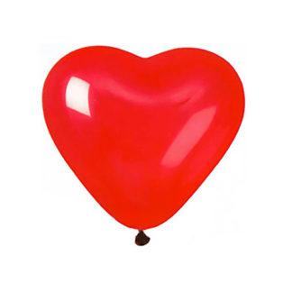 Palloncini Cuore Rosso 12 pezzi