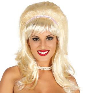 Parrucca Bionda stile Grease