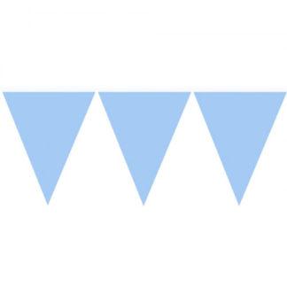 Bandierine PVC Azzurre mt 10