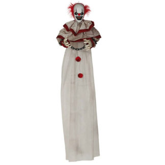 Clown Horror con luce suono e movimento cm. 180