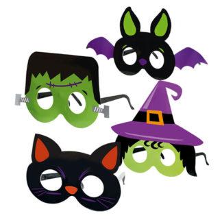 Occhiali Halloween bimbo set 4 pezzi