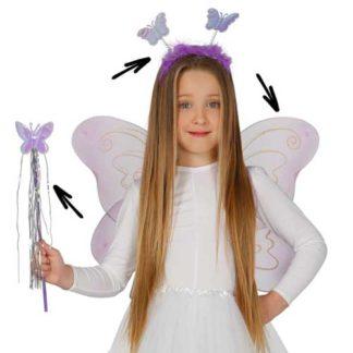 Set travestimento farfalla bimba