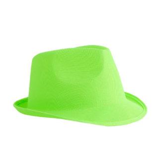 Cappello gangster Verde Neon