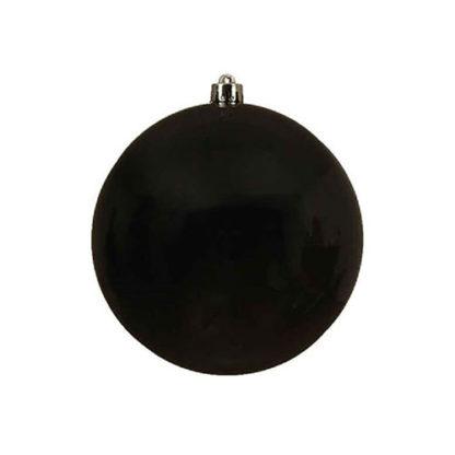 Palla di Natale mm 200 Nera
