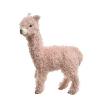 Alpaca in peluche Rosa cm. 25