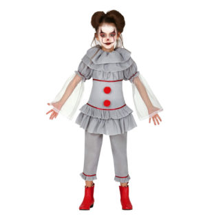 Costume stile IT clown assassino bimba