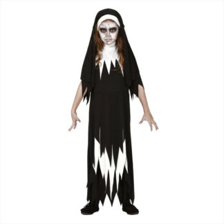 Costume Suora Horror stile The Nun 10 - 12 anni