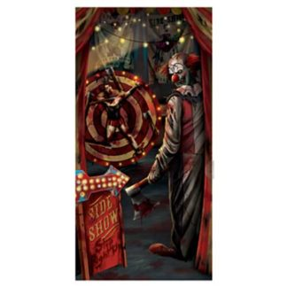 Banner clown horror in pvc cm.85x165
