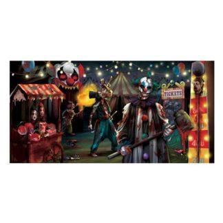 Banner circus horror in pvc cm.165x85