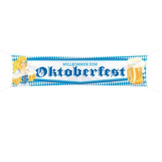 Banner Oktoberfest mt. 1,80