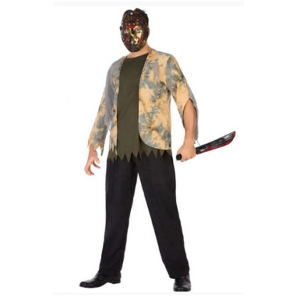 Costume stile Jason Venerdì 13 tg. 50/52