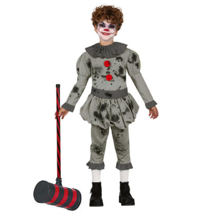 Costume Stile It Clown Assassino Bimbo