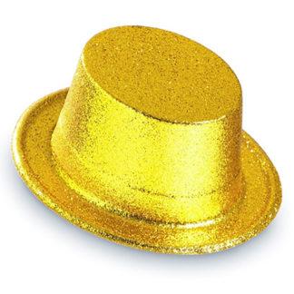 Cilindro glitter oro