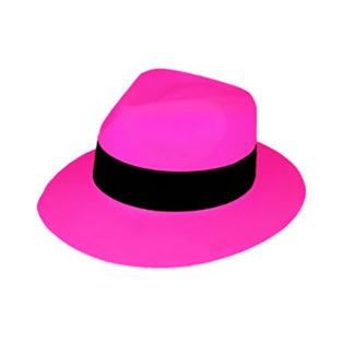 Cappello Gangster neonFucsia