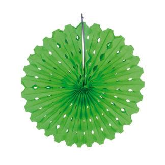 Rosone in carta verde cm 45
