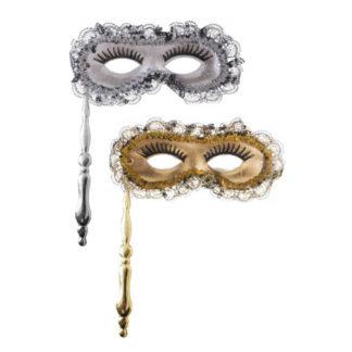 Maschera Farfalla con bastoncino