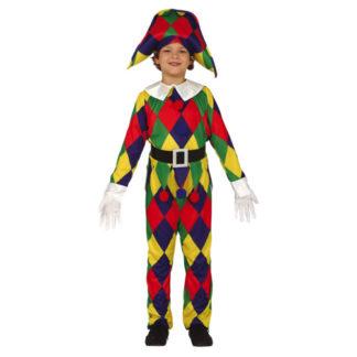 Costume Arlecchino Bimbo 5/6 anni