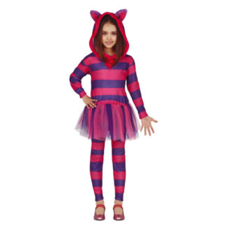 Costume Stregatto Alice in Wonderland 10/12 anni