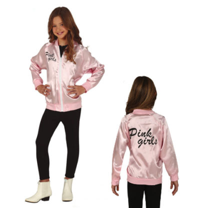Giubbotto stile Pink Lady 7/9 anni