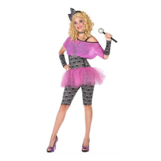 Costume Pop Star anni 80 Tg. 40/42