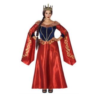Costume Regina medioevale Tg. 48/50