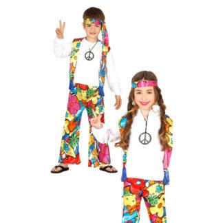Costume Hippie Bimbo 5/6 anni Unisex