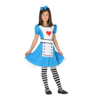 Costume stile Alice nel paese delle meraviglie 10/12 anni
