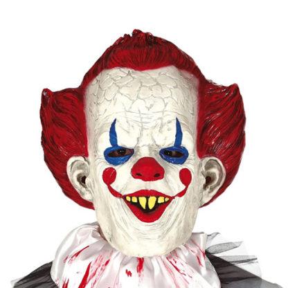 Maschera Clown IT in lattice