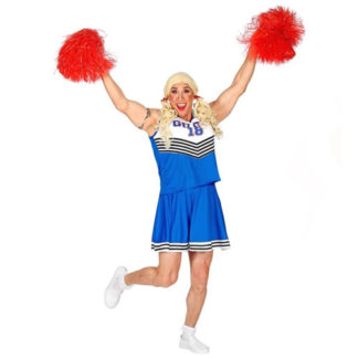 Costume Cheerleader da uomo Tg. 56
