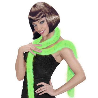Boa marabou verde