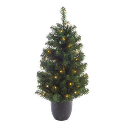Alberino di Natale con 50 luci cm 90