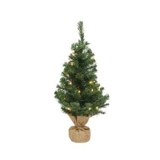 Alberino di Natale Imperial con luci cm 45