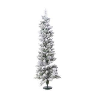 Alberino di Natale in pino innevato cm 75