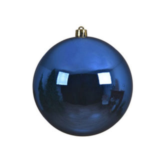 Palla di Natale mm 200 Royal Blu