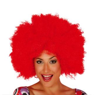 Parrucca Afro Maxi Rossa