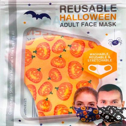 Mascherina protettiva Halloween Zucche
