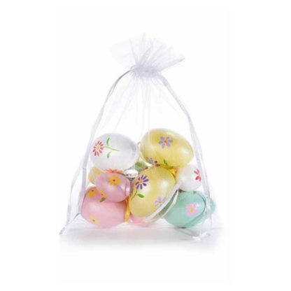 Uova di Pasqua Decorate 12 pezzi