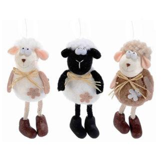 Pecorella Pasquale gambe lunghe cm. 11,5