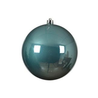 Palla di Natale mm 140 Blue Dawn