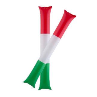 Bastoni gonfiabili tifo Italia set 2 pezzi