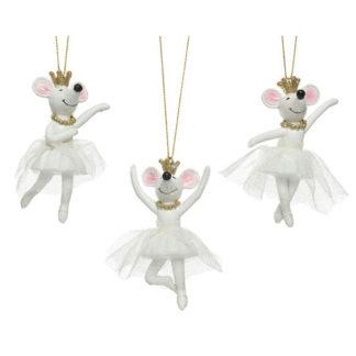 Decoro Topolina Ballerina cm. 10