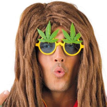 Occhiali foglie Marijuana