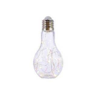 Lampadina Bianca MAXI con luci led cm 18,5