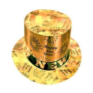 Cilindro Happy New Year Oro